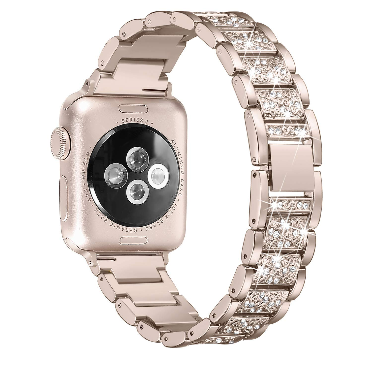 Women Diamond Band for Apple Watch 11