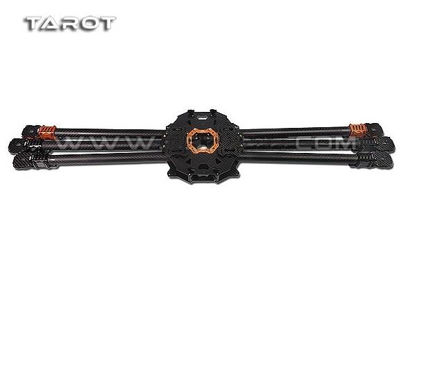 F08614 Tarocchi T960 Completa In Fibra di Carbonio 6-axle Pieghevole Hexacopter Struttura del Rack Kit FPV TL960A per FAI DA TE 6-axle Multicopter Drone FPV
