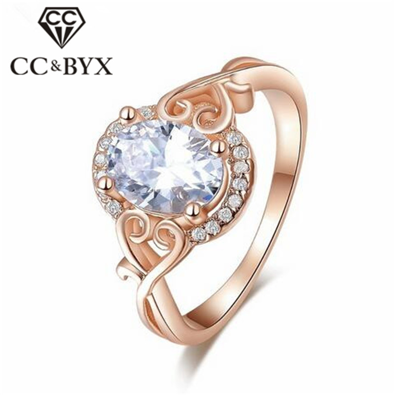 Fashion jewelry Cincin Wanita engagement party ring for women korean bijoux femme bagues with jewelry CC157