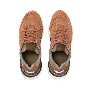 Image 3 - Мужские кроссовки в стиле ретро Xiaomi Mijia, прочные дышащие кроссовки из натуральной кожи для бега и занятий спортом на открытом воздухе, 2019