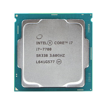 Четырехъядерный процессор Intel Core 1151, 3,6 ГГц, 8 ниточный LGA 7700, 65 Вт, 14 нм, i7