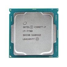 Intel Core i7 7700 Quad Core מעבד 3.6 GHz 8 חוט LGA 1151 65 W 14nm i7 7700 מעבד