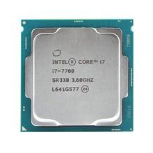 Intel Core i7 7700 Quad Core işlemci 3.6 GHz 8 Iplik LGA 1151 65 W 14nm i7 7700 işlemci