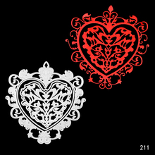 DIY heart-shaped design cutting dies stencils embossing card for scrapbooking album decorative metal crafts.