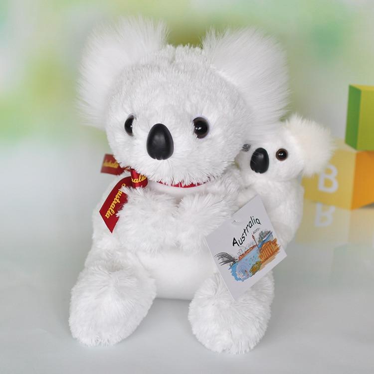 ୧ʕ ʔ୨Nueva lindo koala de peluche de juguete de simulación de alta ...