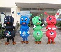 Ant Pismire Formicidae маскоты Костюм Фестиваль взрослых нарядное платье наряд мультфильм 6 цветов косплэй
