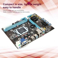 Professional Compact PCI E B85 Motherboard ETH X79 Mainboard DDR3 Support for Intel For 8 Graphics Cards Mining Miner Machine