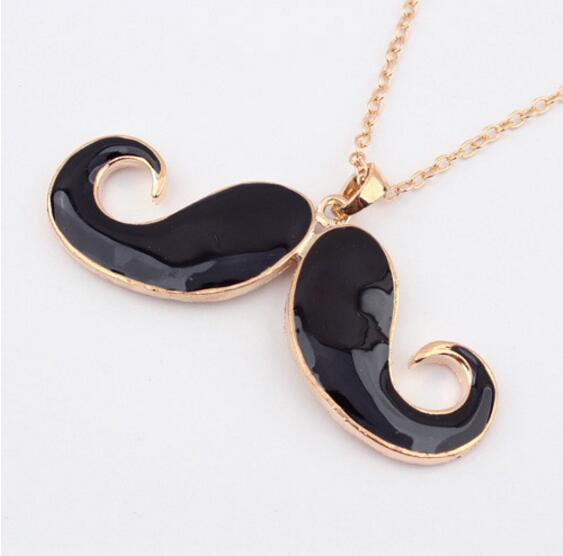 N053 Fashion Specials @ Korean jewelry concave shape Avanti beard wild long necklace sweater chain necklace Free shipping