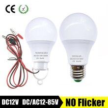 2019 新 led 電球 DC12V smd2835 チップランパーダ led ランプ dc/AC12V 24 v 36 v 3 ワット 6 ワット 9 ワット 12 ワット 15 ワットスポット電球ポータブルフィラメント luminaria