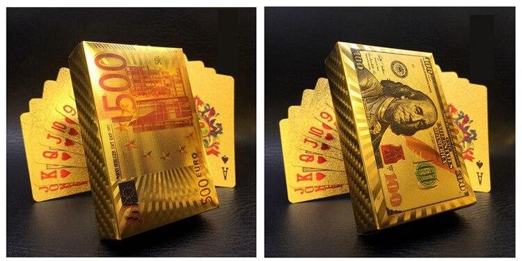 Plástico Jogando Cartas de Poker À Prova