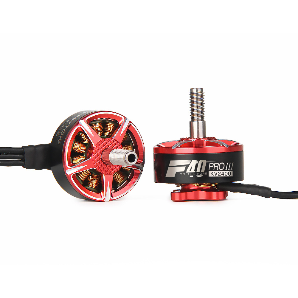4PCS T motor F40 PRO III 1600KV 1750KV 2400KV 2500KV 2600KV 2700KV 5 6S CW Thread