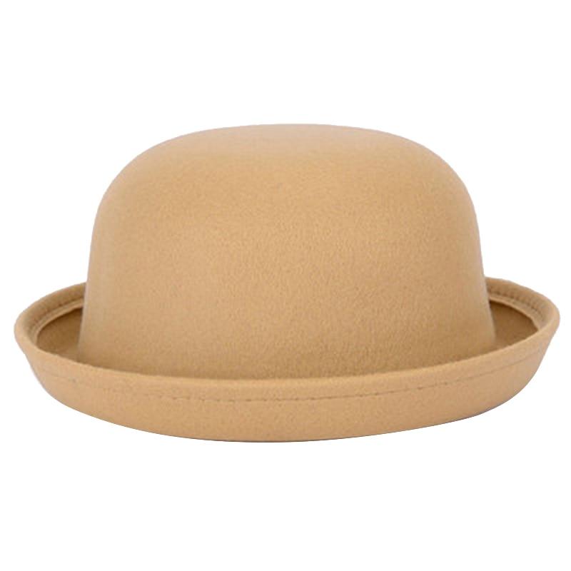 4bfce3cb793b7 Detail Feedback Questions about Laamei Adult Children Women Men Fedora Hat  Dome Cap Dress hats Kids Caps Felt Wool Felting Bowler Hat Fashion Fadoras  Z30 on ...