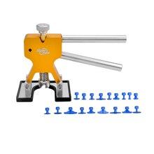 Автомобиль Дент Съемник PDR Paintless Дент Ремонт Инструменты Золото Клей Съемник 18 шт. Голубых Таблеток