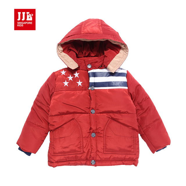 infant snowsuit children's winter outwear baby boys parka baby boy outwear kids jacket baby jacket hoodie baby clothing