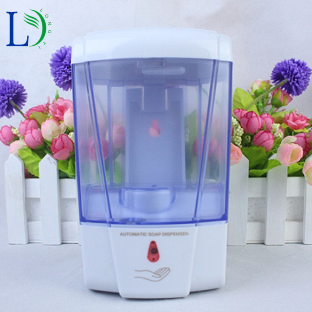 700ml Automatic Soap Dispenser Battery Powered Wall Mount No Touch Auto Soap  Dispenser Touchless Kitchen Soap