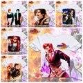 Anime / jogo rei dos lutadores camisetas t-shirt Cosplay jogo KOF T camisa homens de manga curta dos desenhos animados Anime t-shirt XD-071