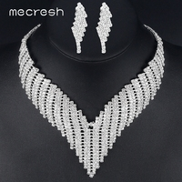 New 2013 Free Shipping Gorgeous Crystal Bridal Jewelry Sets Wedding Jewelry Wedding Accessoies Including Necklace And