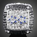 Мода белый кристаллический, серебро чемпионата кольцо dallas cowboys NFL чемпионат кольцо 1977 Dallas cowboy майки для мужчин подарки