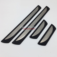 High Quality Stainless Steel Door Sill Scuff Plate Welcome Pedal For Nissan Qashqai J11 2015 2016