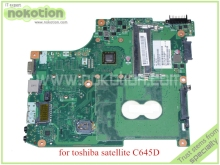 laptop motherboard for toshiba satellite C645D PN 1310A2414511 SPS V000238110 6050A2414501-MB-A02 E450 AMD DDR3