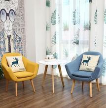 купить The balcony table chair 3 sets contemporary and contracted combination recreational small sofa Nordic mini courtyard tea table . по цене 10095.34 рублей