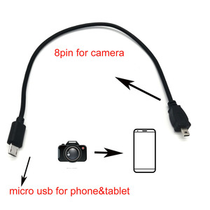 OTG DATA CABLE for Olympus CB-USB7 FE-5500/5010/5020/5000/4010/4000/3010/3000