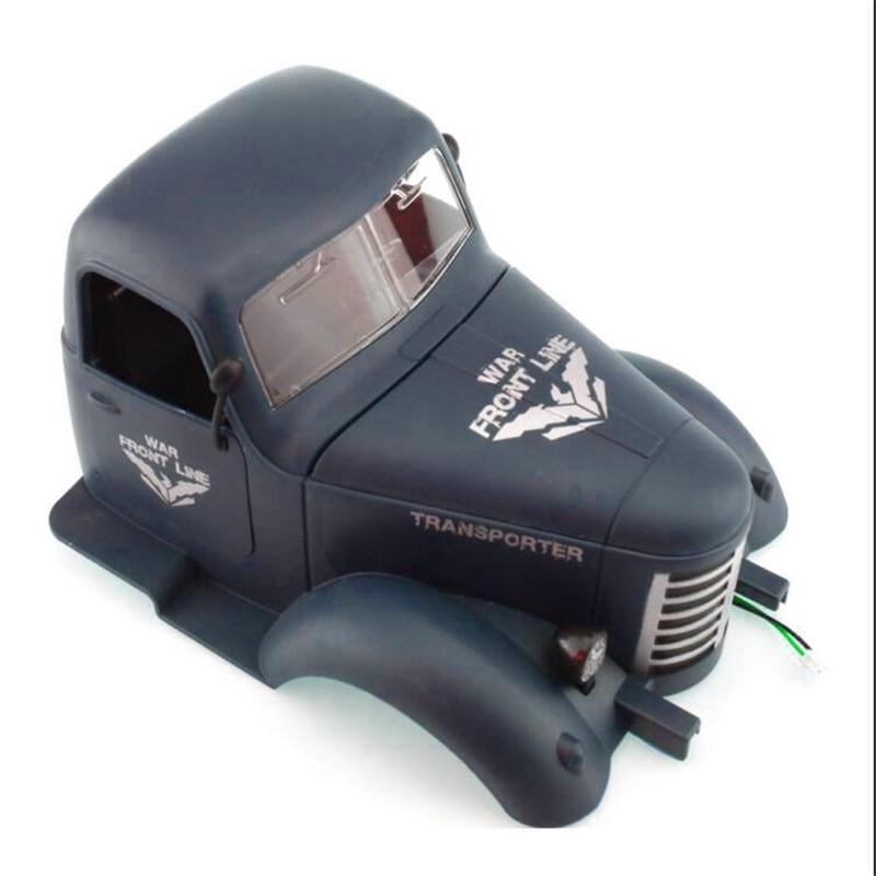JJRC Car Head For Q60 Q61 1/16 2.4G Off-Road Military Trunk Crawler RC Car Parts