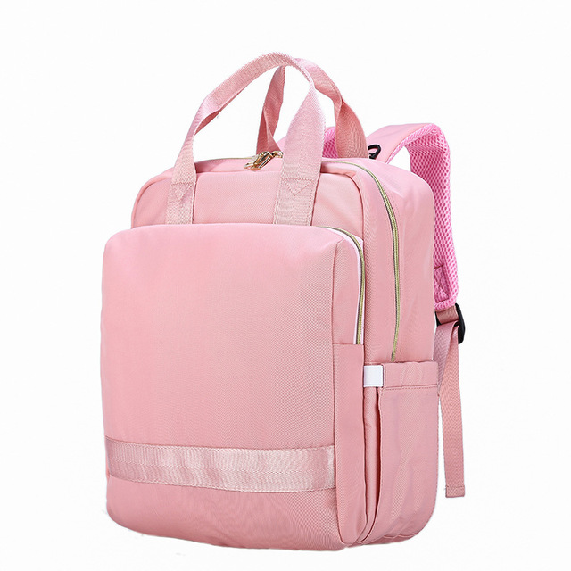 3 Colors Large Capacity Travel Baby Care Nappy Bag Diaper Storage Bag Baby Care Travel Backpack Designer Nursing Bag