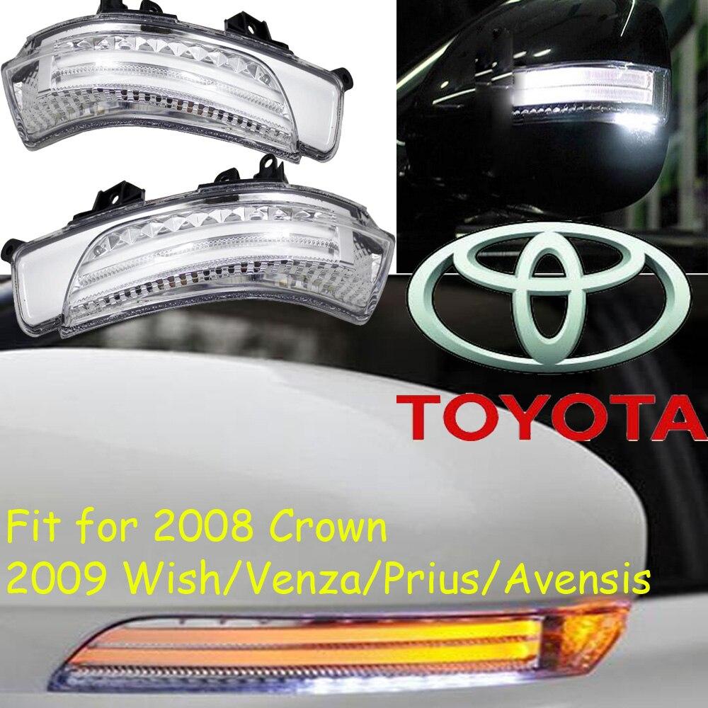 ФОТО car-styling,Wish Mirror light,Venza,Free ship!2pcs,Prius mirror light;car-covers,chrome,Avensis turn light; 2008 crown