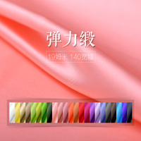 19 Momme Silk Stretch Satin Dress Fabric Soft Silk Fabrics Wholesale High Quality Silk Cloth 24