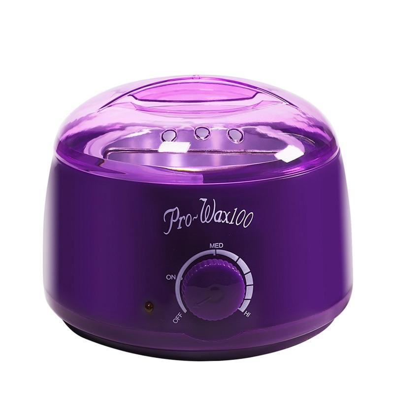 Paraffin Wax Heater Hair Removal Cream Heater 100g Wax Beans Wax Machine Warmer Heater Professional Mini SPA Hands Feet