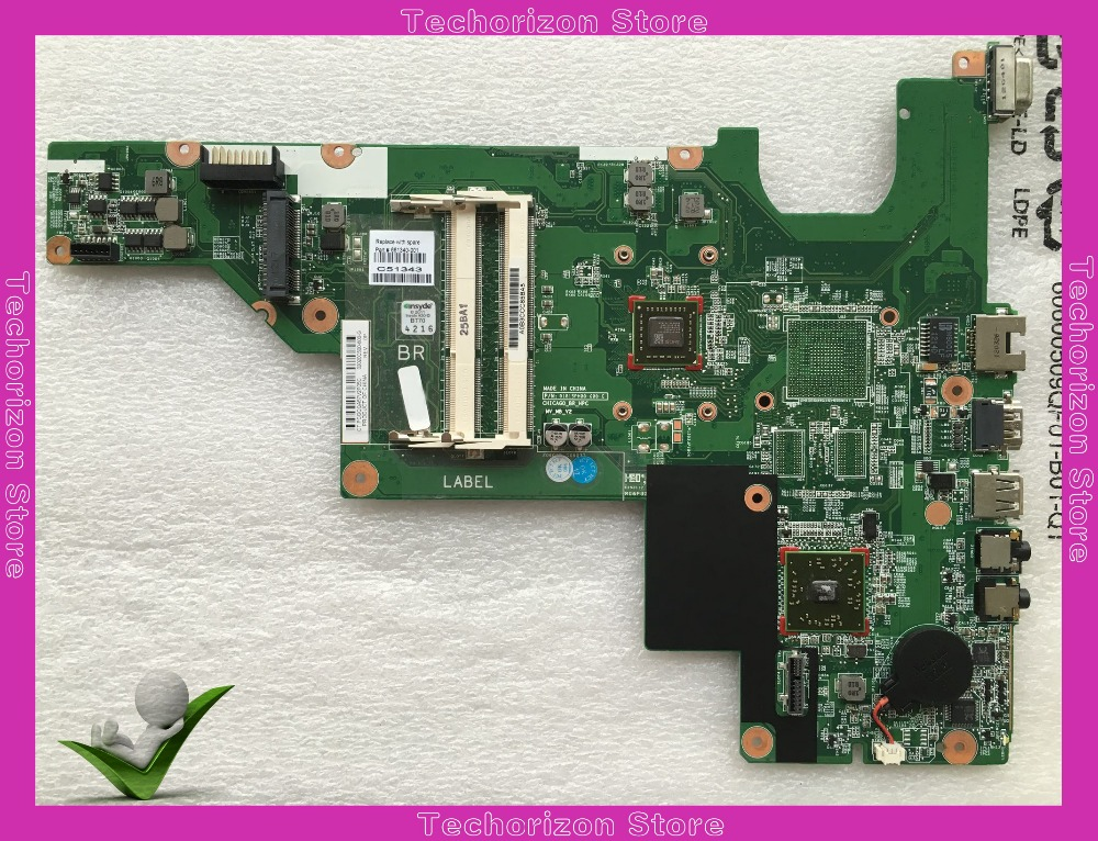 Laptop Motherboard For HP 635 CQ57 661340-001 integrated Mother board tested working 100% original laptop motherboard 04w6683 for lenovo l530 integrated fully tested working perfectly