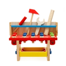 Pretend Play wooden screwTool Toys for Childrens Wooden Multifunctional Tool Kids Role Classic Montessori Educational toys