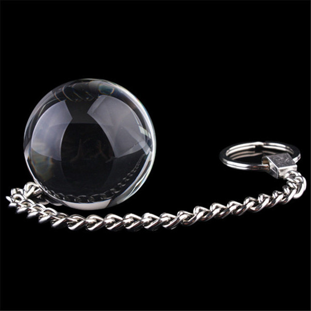 Crystal Glass Butt Plug Metal Chain Anal Bead Vaginal -8356