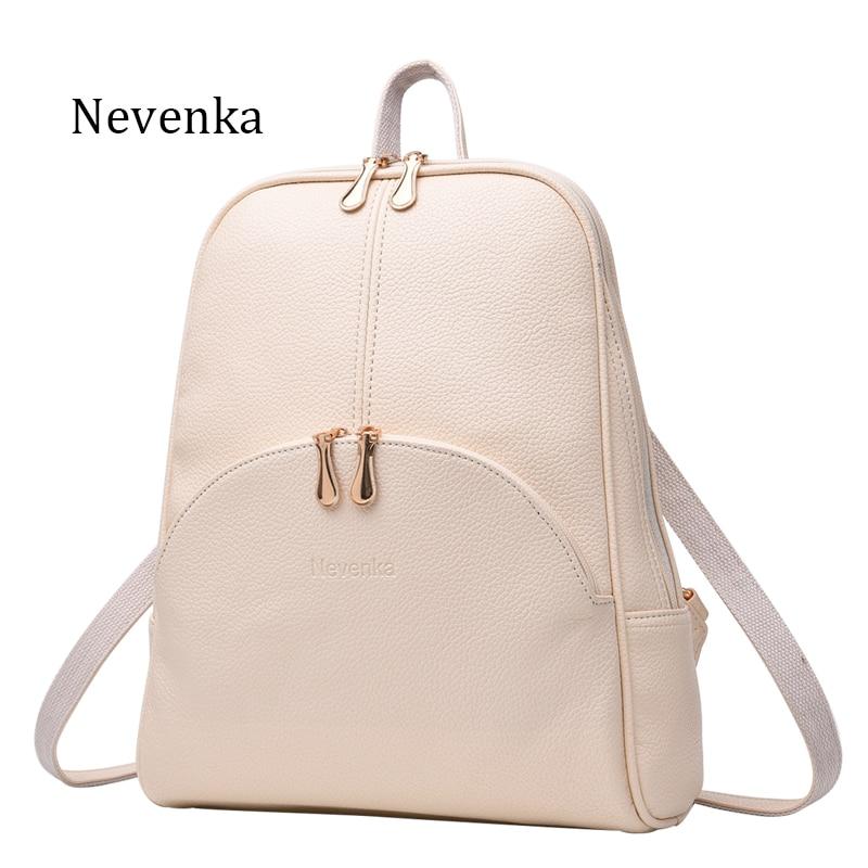 Nevenka Women Backpack Leather Backpacks Softback Bags Brand Name Bag Preppy Style Bag Casual Backpacks Teenagers Nevenka Women Backpack Leather Backpacks Softback Bags Brand Name Bag Preppy Style Bag Casual Backpacks Teenagers Backpack Sac