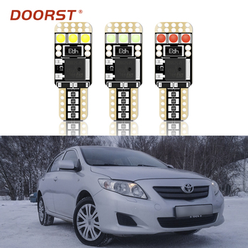 T10 W5W 194 168 LED lamp canbus no error For Toyota Corolla Levin AE100 101 AE110 111 Auris Altezza Avensis 2 3 Caldina 210 241 image