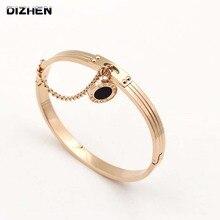 New Women Wedding Bracelet Brand Luxury Love Bangles & Bracelets For Women Romantic Letter Bracelet For Valentines Gift B17077