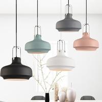Nordic Pendant Lights Post Modern Minimalist Restaurant Pendant Lamp Kitchen Lights American Industrial Single Head Hanging Lamp
