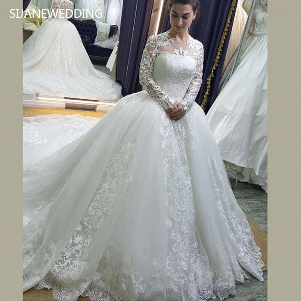 Royal Wedding Ball Gown: SIJANE Vestidos De Noiva Ball Gown Princess Dress Luxury