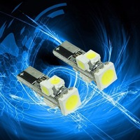 10PCS X Light Point Wholesale LED T5 5smd Car Bulb LED Car Instrument Cluster Dash Lights