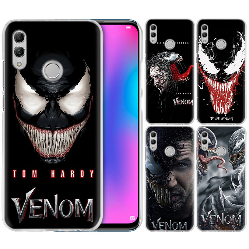 <font><b>Marvel</b></font> Super Hero Venom <font><b>Case</b></font> for <font><b>Huawei</b></font> Honor 8X Y9 9 10 Lite Play 8C 8S 8A Pro V20 20i 10i Y6 <font><b>Y7</b></font> <font><b>2019</b></font> Hard PC Phone Cover Capa image