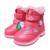 VENTA caliente 1 pair Marca Bebé Frío Invierno cálido Nieve, niños de arranque de La Moda Exportados Europa Rusia MARCA Niña Botas de algodón acolchado