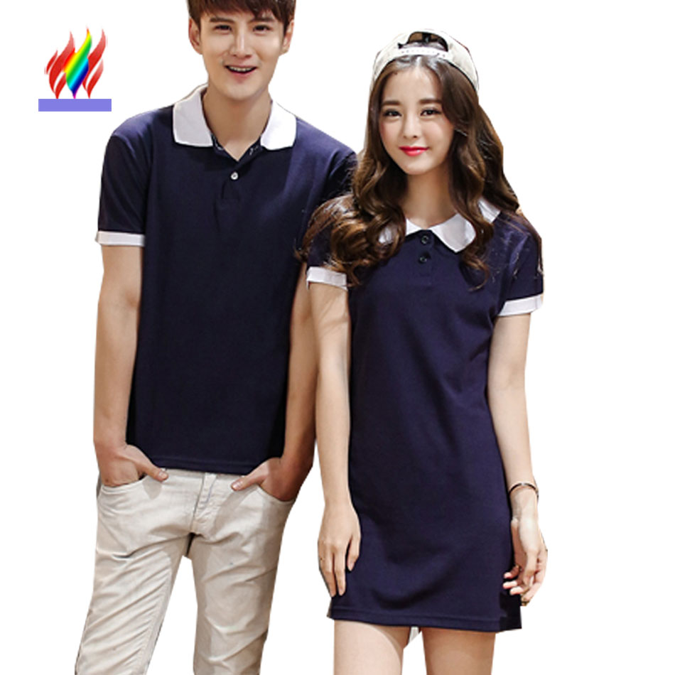 2016 hot selling cute korean couple t shirts clothes