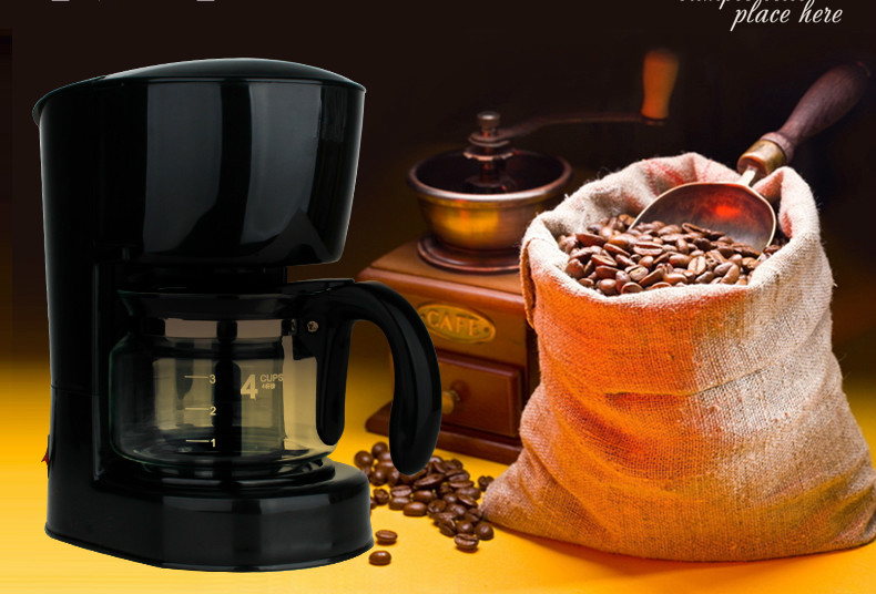 American drip-drip coffee maker brewing commercial office Drip Coffee Maker md236 commercial drip coffee maker household automatic american coffee maker