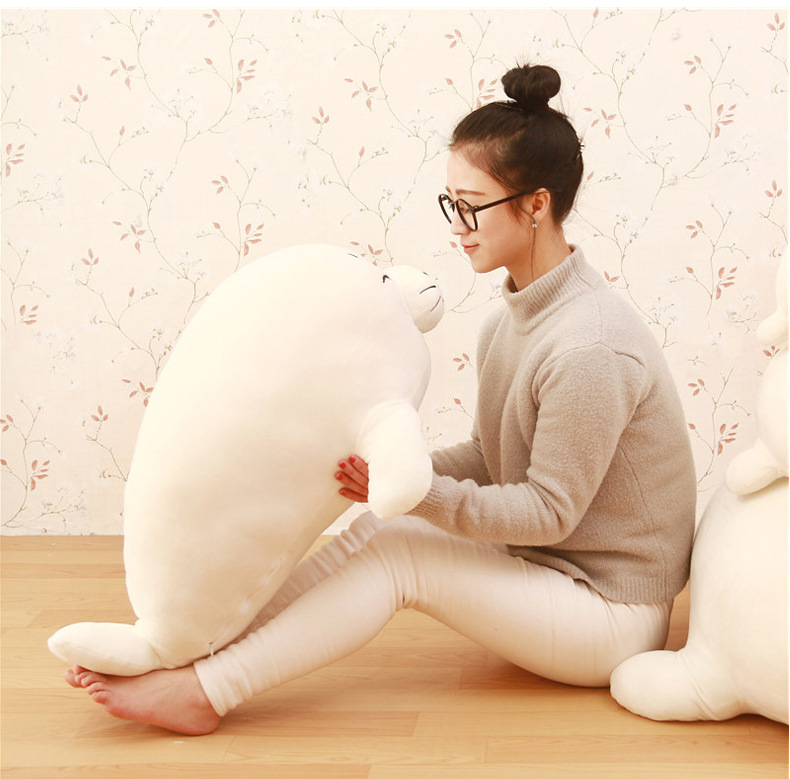 lovely high quality plush seal toy big stuffed white seal pillow doll about 80cm 2pcs 12 30cm plush toy stuffed toy super quality soar goofy