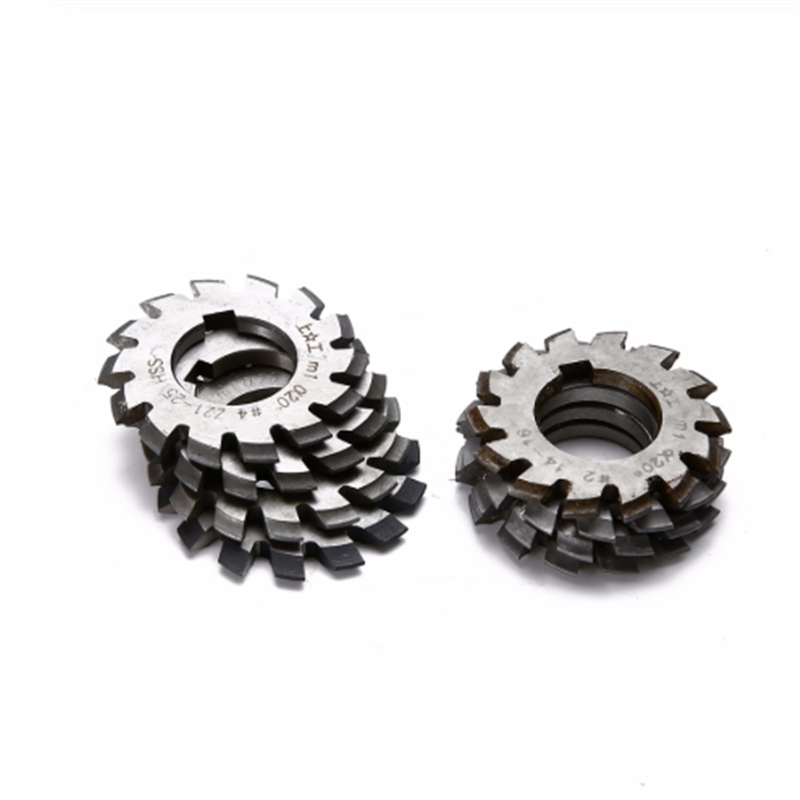 Image 5 - 8PCS NO.1 NO.8 M0.4 M0.5 M0.6 M0.7 M0.8 M1 M1.25 M1.5 M2 M3 M4 Modulus PA20 Degrees HSS Gear Milling cutter Gear cutting tools-in Milling Cutter from Tools
