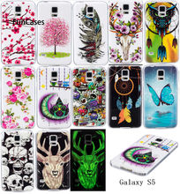 Luminous Gevallen Voor SAMSUNG Galaxy S5 S5Neo SM-G903F Duos SM-G903M/DS Soft TPU Silicon IMD Glossy Covers Voor Galaxy s5 Neo G903FD(China)