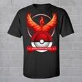 Pokemon Go Team Valor Mystic Instinct T-Shirt Funny Cool T Shirt Men Coldplay Cotton Tops Brand Clothing Pocket Monster