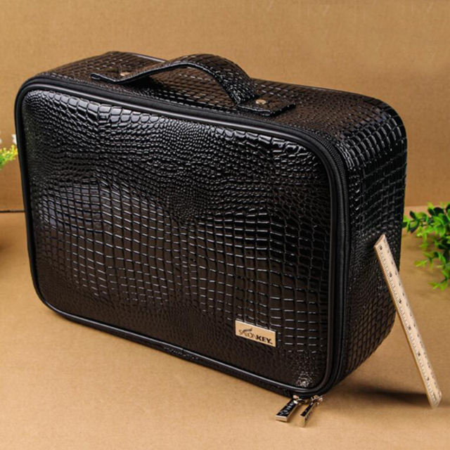 Size Professional Pu Leather Barber Bags Salon Hairdressing Tool Storage Case Handbag Hair Clipper Bag