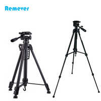 New arrival 3 sections Professional Tripod with 360 degree horizontal rotation base for Phones DSLR Cameras CANON NIKON SONY